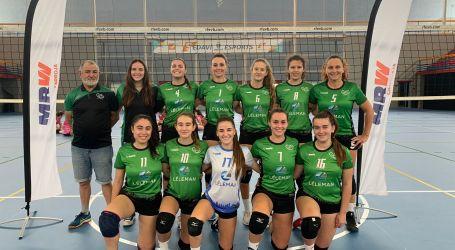 El Club Voleibol Sedaví Senior Femenino debutó como líder en el grupo C2 de Primera Nacional tras imponerse con un  3-0