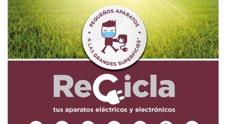 La campaña de reciclaje de aparatos eléctricos llega el lunes a Paterna