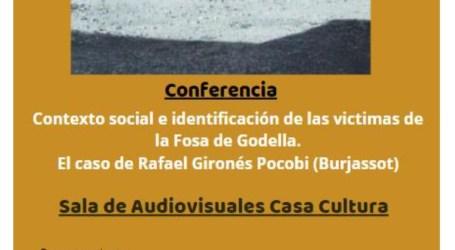 Charla en Burjassot sobre las víctimas de la fosa de Godella e identificación de sus familiares