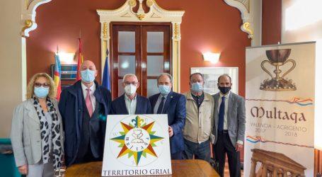 Alboraya acudirá a la ceremonia de clausura del encuentro internacional dedicado a la Ruta del Grial