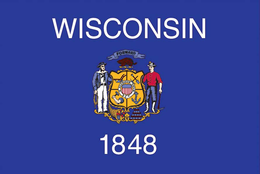 WISCONSIN FLAG Elmers Flag And Banner