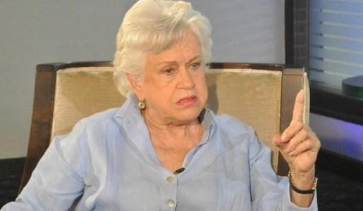 Milagros Ortiz Bosch pide JCE frenar amenaza de Lucía Medina a libre determinación del sufragio