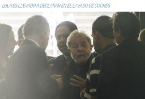 LULA LLEVADO PRESO