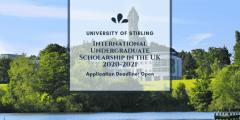 منحة جامعة ستيرلنغ لدراسة البكالوريوس في المملكة المتحدة 2020