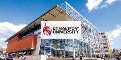 منح جامعة دي مونتفورت لدراسة البكالوريوس والماجستير في المملكة المتحدة 2021