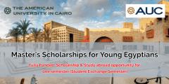 زمالة Yousef Jameel GAPP للقيادة العامة لدراسة الماجستير فى الجامعة الأمريكية بالقاهرة 2022(ممولة بالكامل)