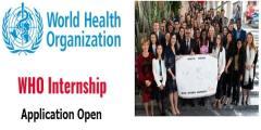 برنامج التدريب الداخلي لمنظمة الصحة العالمية 2021 | التدريب المدفوع
