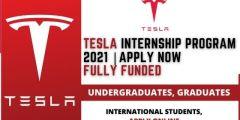 برنامج Tesla للتدريب التعاوني 2021 | تدريب مدفوع الأجر