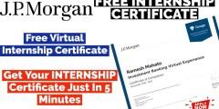 J.P. Morgan Virtual Internship | Investment Banking