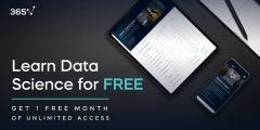 موقع 365DataScience يتيح جميع الكورسات مجاناً حتى يوم 18 نوفمبر
