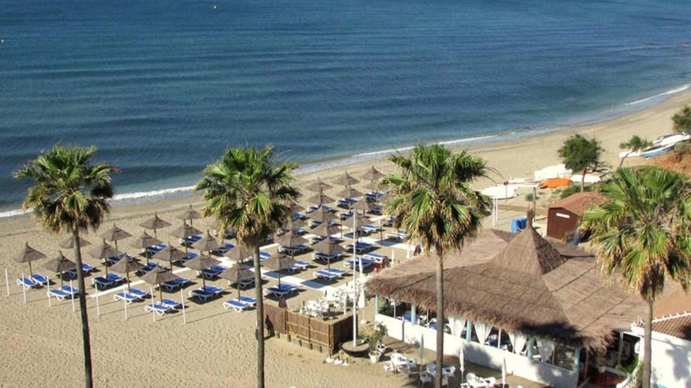 Playa Luna de Mijas (Málaga)