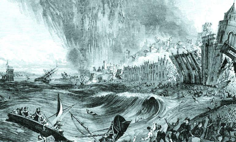 Así fue el maremoto que destruyó Cádiz en 1755