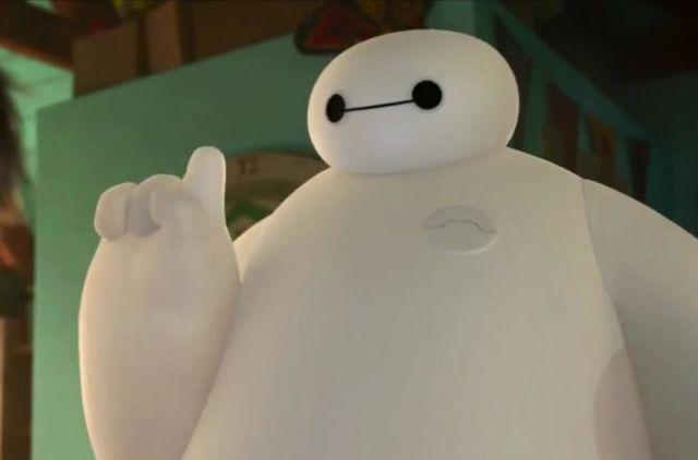 Fotograma de la película Big Hero 6 (de Disney)