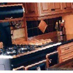 Vintage Kitchen Stoves Wall Backsplash Antique Appliances Retro Refrigerator Reproduction Stove And