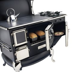 Kitchen Cook Stoves Buffet Hutch The Fireview Is A High Efficiency Air Tight Wood Burning Cookstove