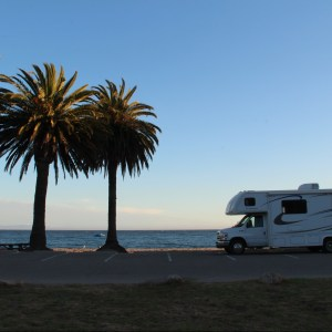 El Monte RV Beach Sunset
