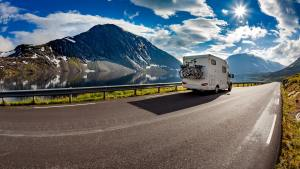 rv driving in mountains