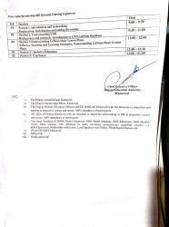 LND litnum Schedule