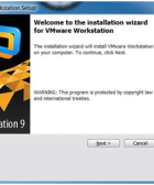 Install NS3 and VMware