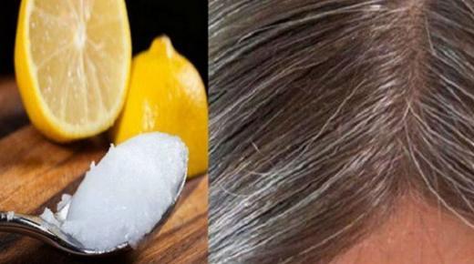 التخلص من الشعر الأبيض بوصفات طبيعية