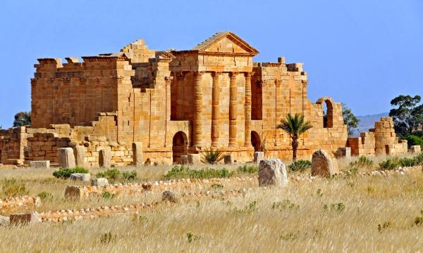 آثار مدينة سبيطلة
