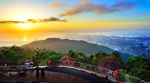 أجمل الأماكن السياحية فى جزيرة بينانج