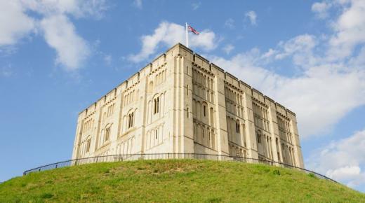 أقدم القلاع في إنجلترا