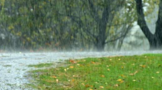 أهم المعلومات عن الأمطار الغزيرة