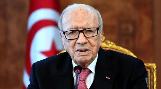 الباجي قائد السبسي رئيس تونس الراحل