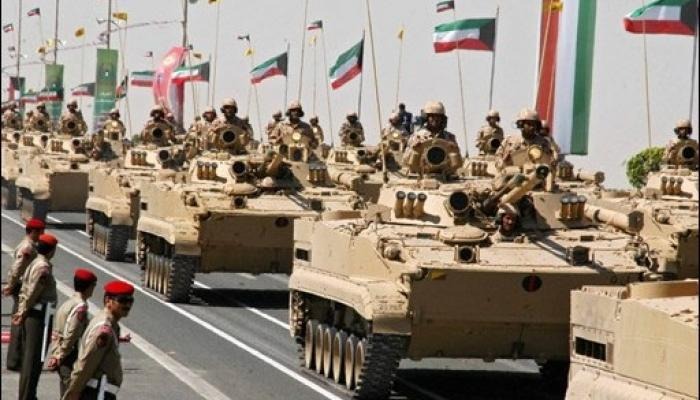 ترتيب الجيش الكويتي