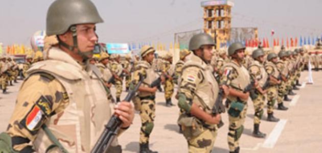 ترتيب الجيش المصري