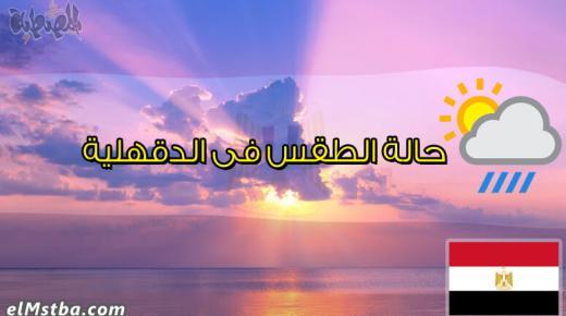 حالة الطقس فى الدقهلية، مصر اليوم #Tareekh