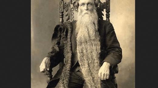 الروسي ذو اللحية الطويلة وموسوعة جينيس