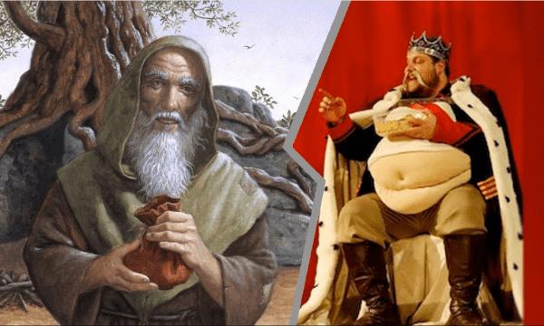 الملك الحائر والطبيب الذكي