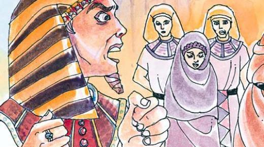 قصة امرأة فرعون وايمانها بسيدنا موسي