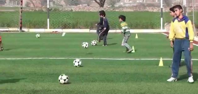 الإحماء لكرة القدم - موقع المصطبة