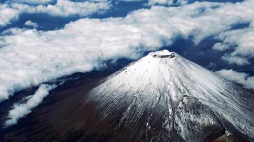 أبرز المعلومات عن جبل فوجي