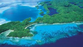 أين تقع جزيرة كارولين ؟