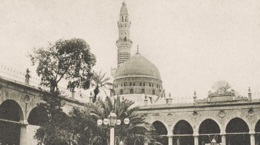 حريق المسجد النبوي في شهر رمضان