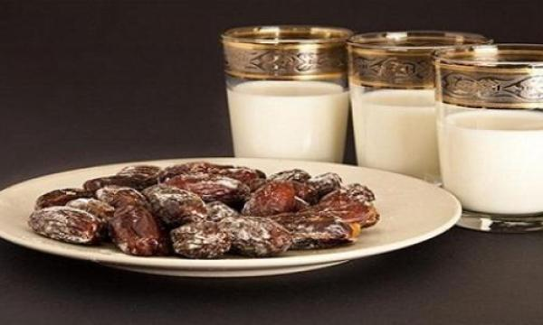 رجيم التمر واللبن في شهر رمضان