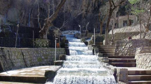 سياحة الشلالات فى كردستان