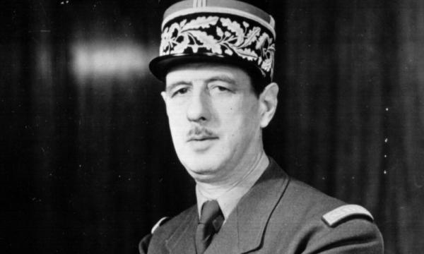 الرئيس الفرنسي شارل ديجول