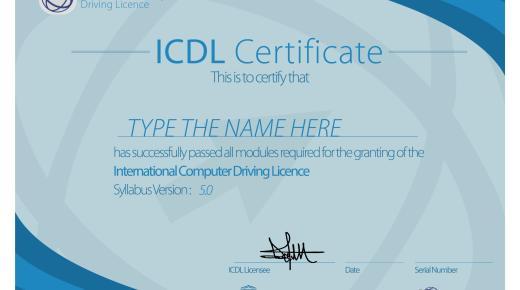 ما هي شهادة ICDL ؟