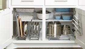 طريقة ترتيب المطبخ بشكل جميل وشيك