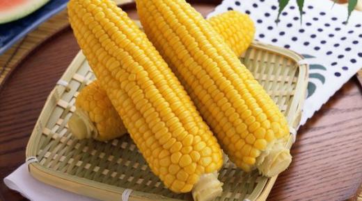 تحضير وجبات مختلفة من الذرة