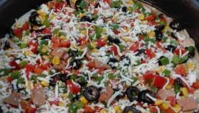 طريقة عمل البيتزا السائلة في المنزل
