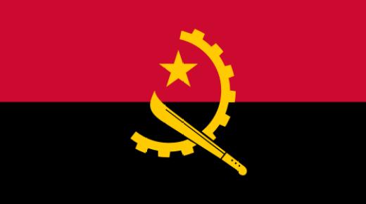 ما معنى ألوان علم أنغولا؟