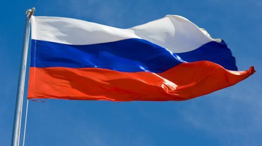 ما معنى ألوان علم روسيا ؟