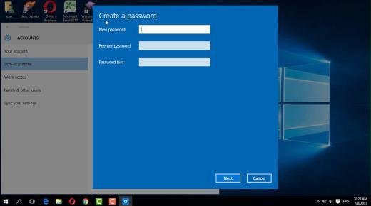 كيفية عمل كلمة سر للكمبيوتر