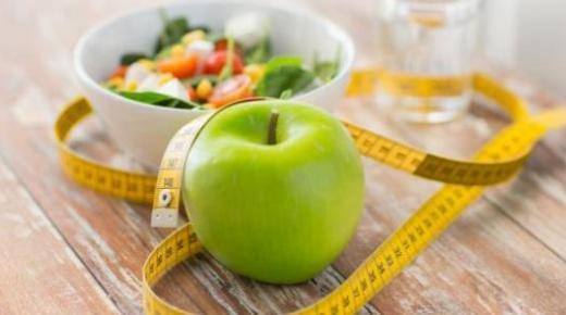 فوائد التفاح الأخضر لإنقاص الوزن